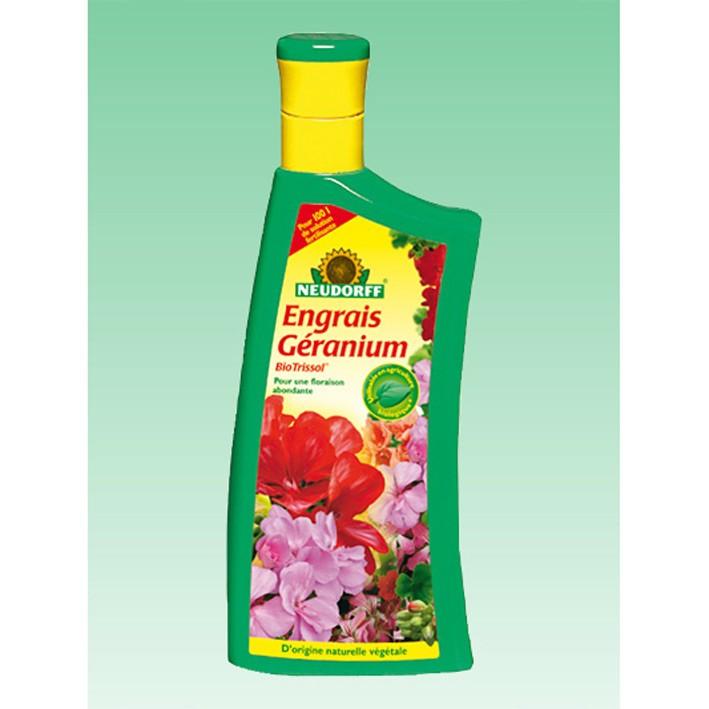Engrais geraniuml 1l neudorff for Engrais 3 fois 15