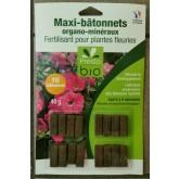 BATONNETS FERTILISANT Plantes Fleuries. 16PC