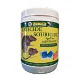 RATICIDE SOURICIDE PATE FRAICHE BRODIFACOUM 0,001% 150g