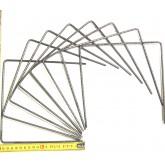 Agrafe métallique 20 x 20 x 20 cm